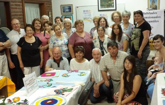 Muestra de fin de año de jubilados y jubiladas mercantiles