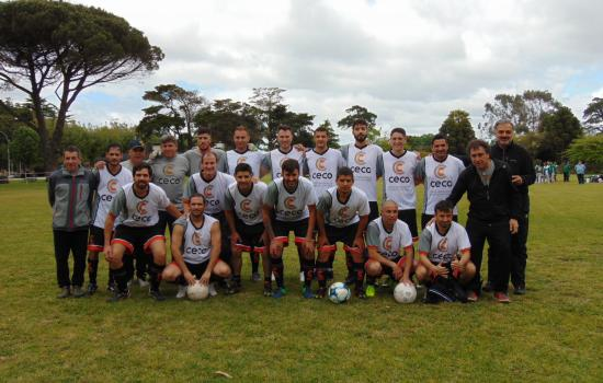 Torneo Regional de fútbol en Mar del Plata