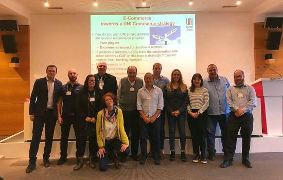 Miguel Santellán participó en encuentro de comercio electrónico en Suiza