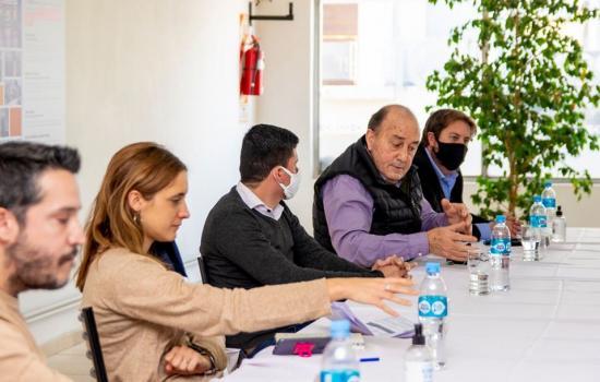 La Ministra de Trabajo visitó el CECO y se reunió con gremios locales